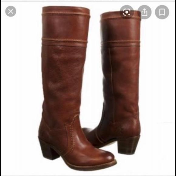 Jane Wide Calf Boots Brown   Poshmark